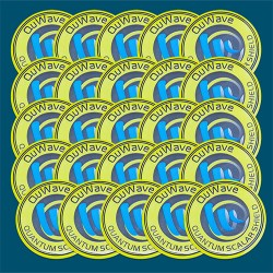 25 EMF protection stickers for cell phones