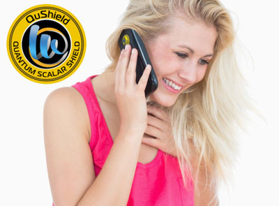 Qushield cell phone EMF Protection