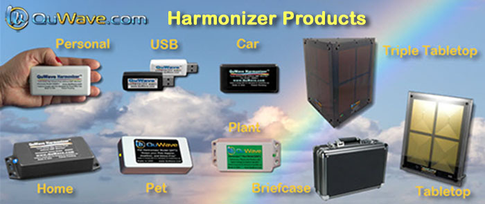 QuWave Harmonizer products for EMF protection